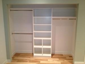 Encinitas home bedroom remodel, closet organization