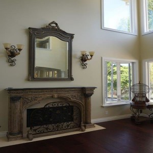 Living room home remodeling San Diego
