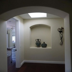 Home remodel and addition Interior skylight in North County San Diego
