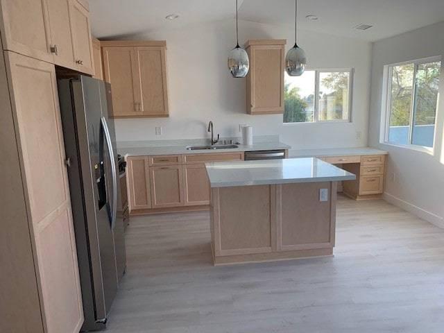 ADU kitchen and windows san diego north county