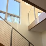 Modern new home build with tension staircase