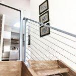 New build modern style stairway landing