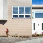 new modern contemporary driveway garage