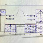 new modern contemporary kitchen blueprint