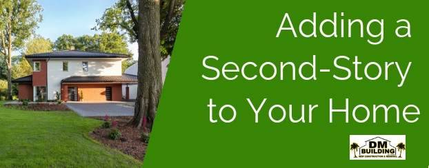 add a second story to your home