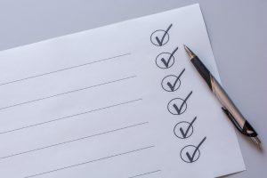 list of priorites