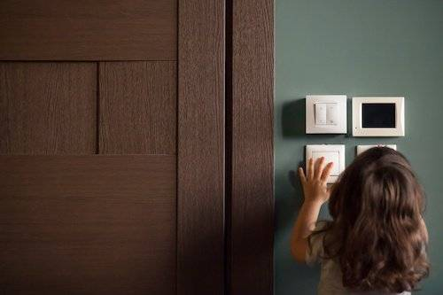 custom homes, light switches