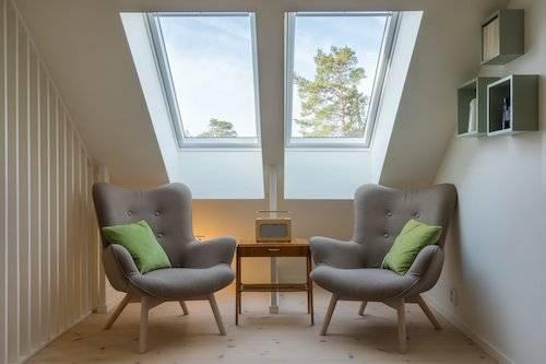 custom home, skylights