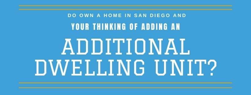 San Diego county ADU construction guidelines